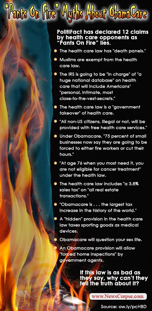 obamacare myths 16 right wing myths about Obamacare