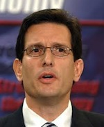 Cantor Eric Republicans want war with Iran