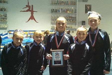 Level 5 State Picture Level 5 State Championships Gymnastics Meet