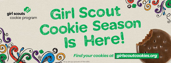 GS cookie season is here
