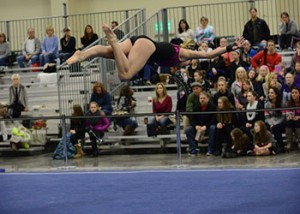 Kaitlyn Holley 300x214 Northern Lights Gymnastics Meet