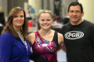 Kaitlyn and coaches