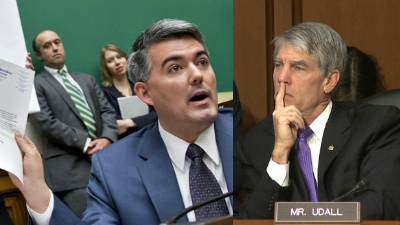 "gardnerudall ""No Labels"" And Cory Gardner–Is This A Joke?"