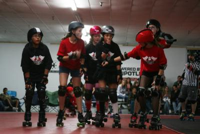 butcher%20babes%20101709 11 Slaughterhouse Derby Girls bring their game faces