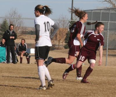 Lady Spartans Settle for Tie in Soccer Opener