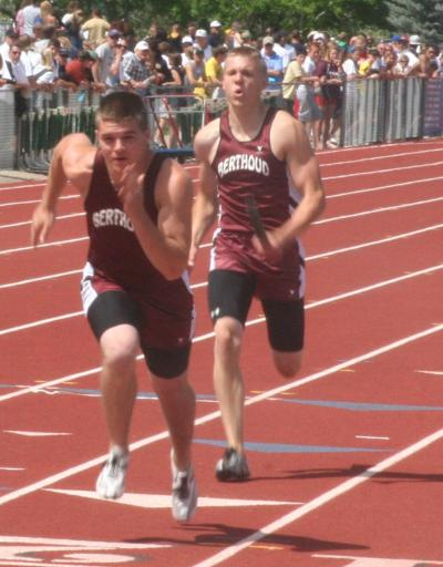 Berthoud High Boys Relay Snags State Title in Photo Finish