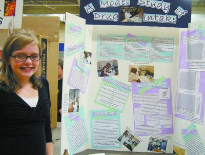 SC Sci%20Fair%20Best%20in%20Show,%20Gerri%20Roberts%20 %20Hindman DC.tif0011 1 Science Fair '09    TMS Students Display Knowledge, Hard Work, at Science Fair