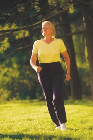 Walking The Key to Your Healthy Heart