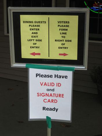 Wayside%20voting Early Voter or Right on Time?